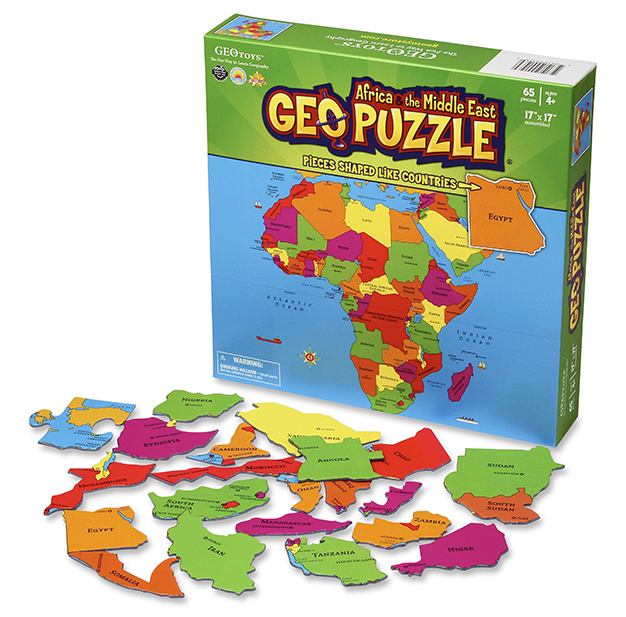 GEOpuzzle Africa